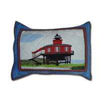 "Lighthouse Gallery Pillow Sham 27""W x 21""L"