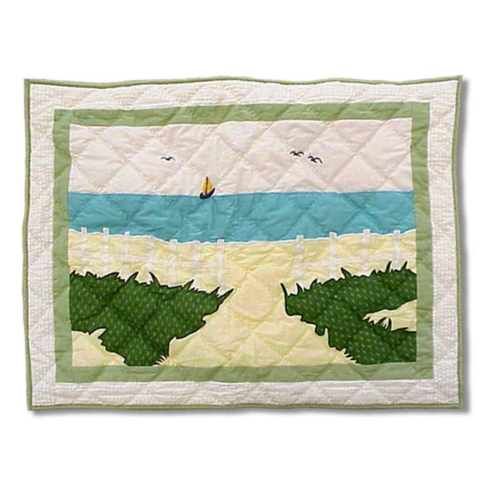 """Ocean View Pillow Sham 27""""W x 21""""L"""
