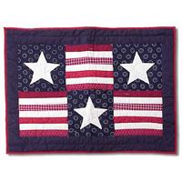 """Patriot Pillow Sham 27""""W x 21""""L"""