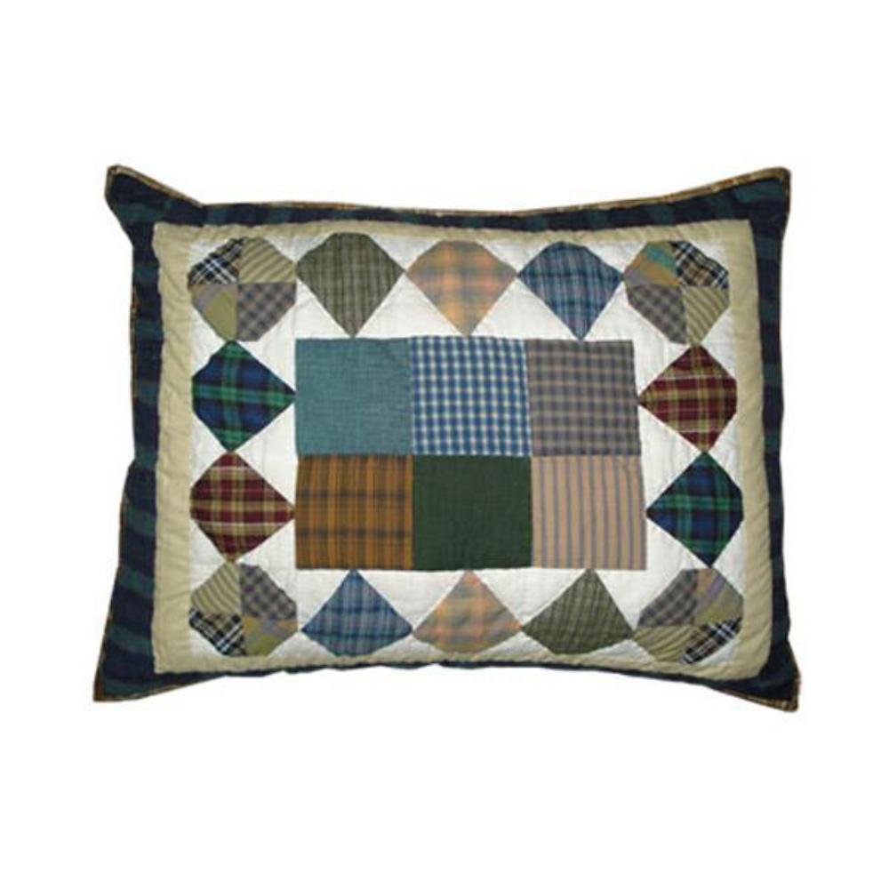 """Pioneer Diamond Pillow Sham 27""""W x 21""""L"""