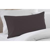"""Black Solid Pillow Sham 27""""W x 21""""L"""