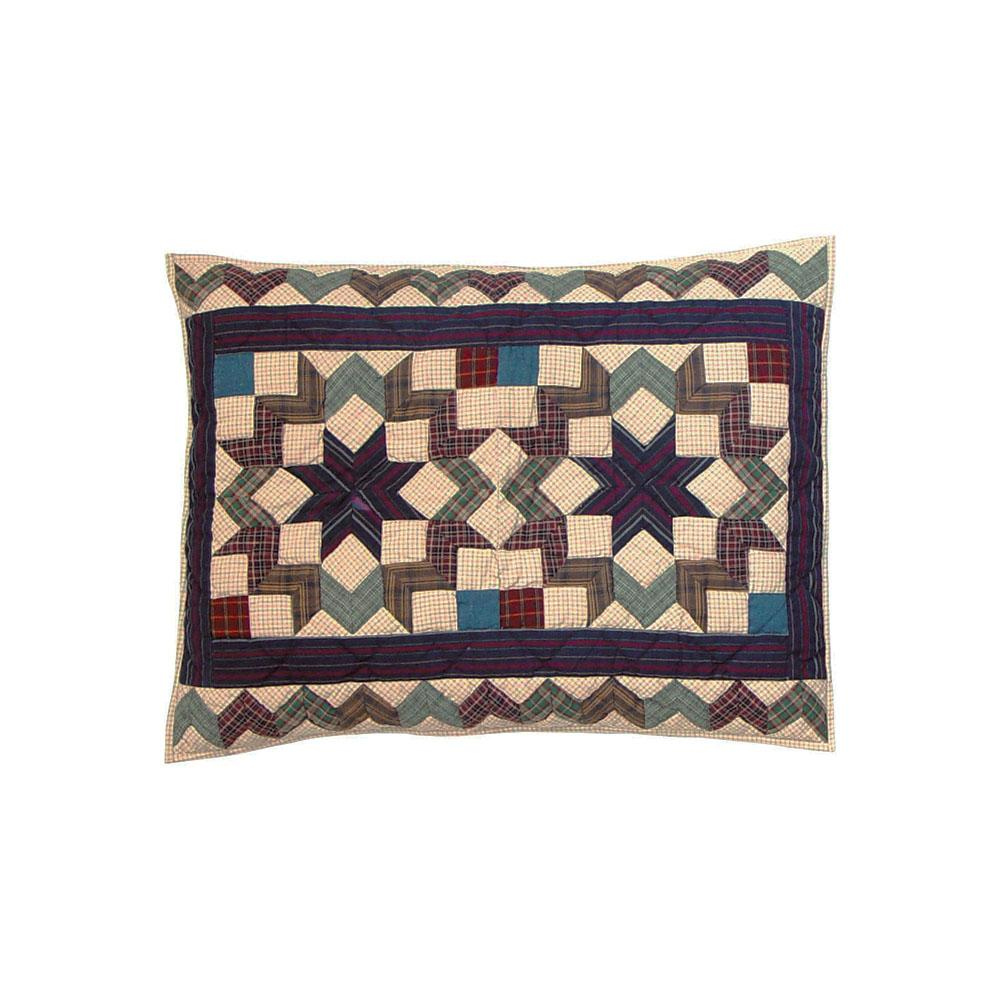 "Star Light Pillow Sham 27""W x 21""L"