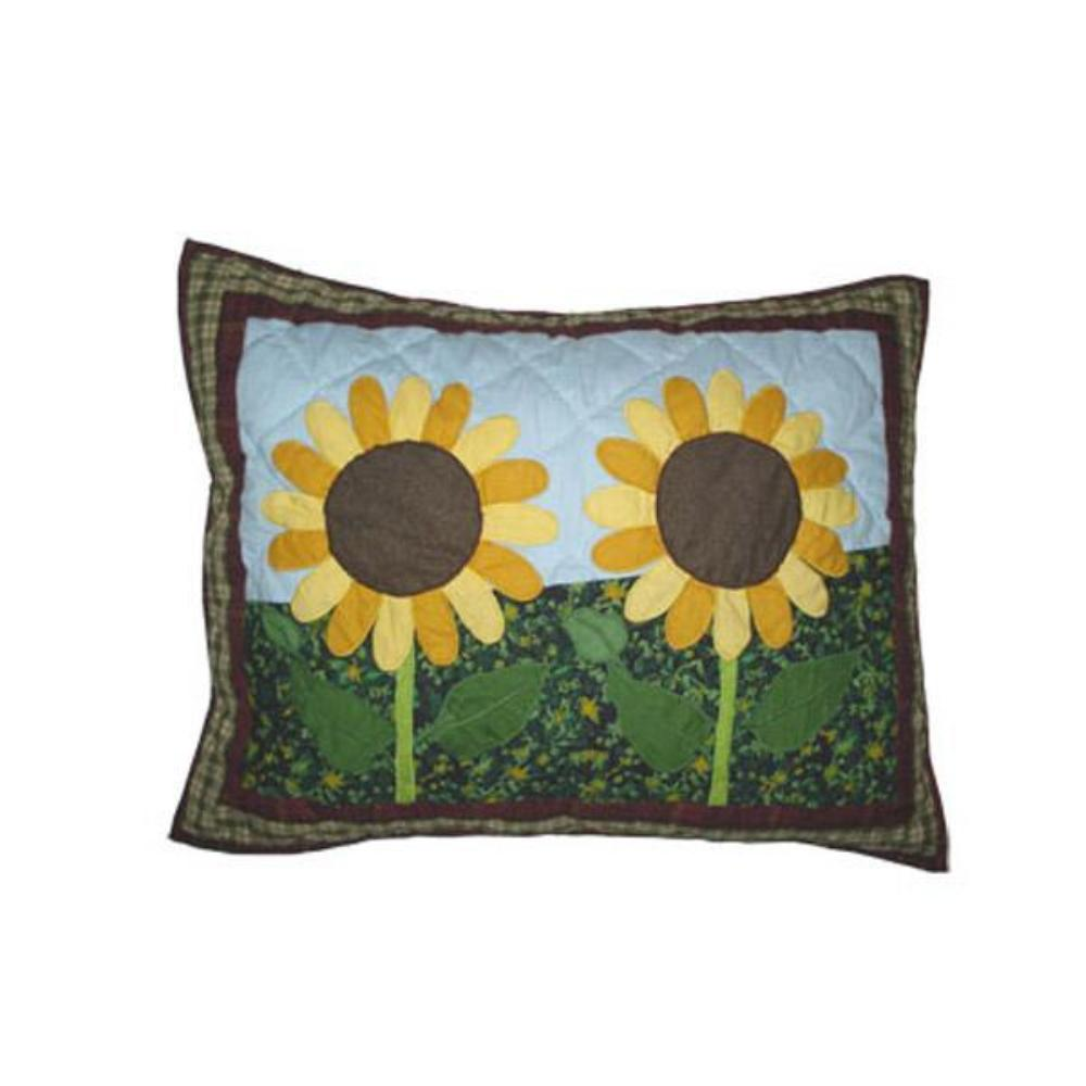 "Sun Burst Pillow Sham 27""W x 21""L"