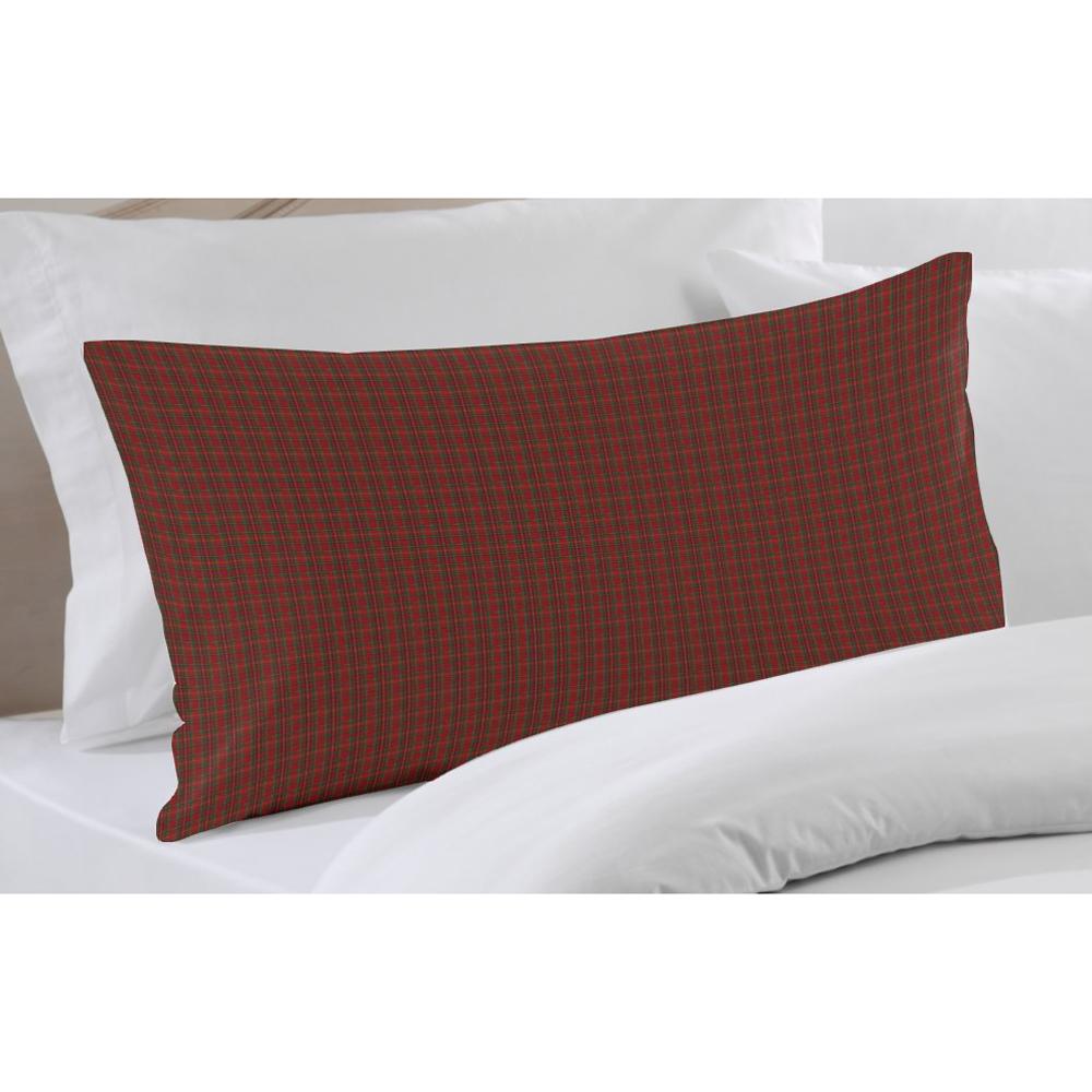"""Red Check Plaid Pillow Sham 27""""W x 21""""L"""