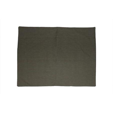 "Hunter green & tan check-old Pillow Sham 27""W x 21""L"
