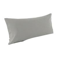 "Cream Gingham Pillow Sham 27""W x 21""L"