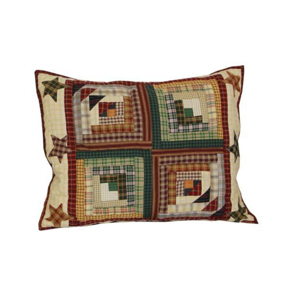 "Woodland Star and Geese Pillow Sham 27""W x 21""L"