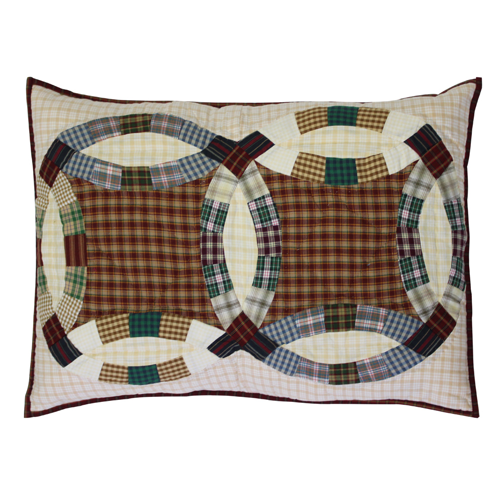 "Woodland Ring Pillow Sham 27""W x 21""L"
