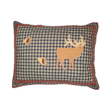 """Winter North Woods Pillow Sham 27""""W x 21""""L"""
