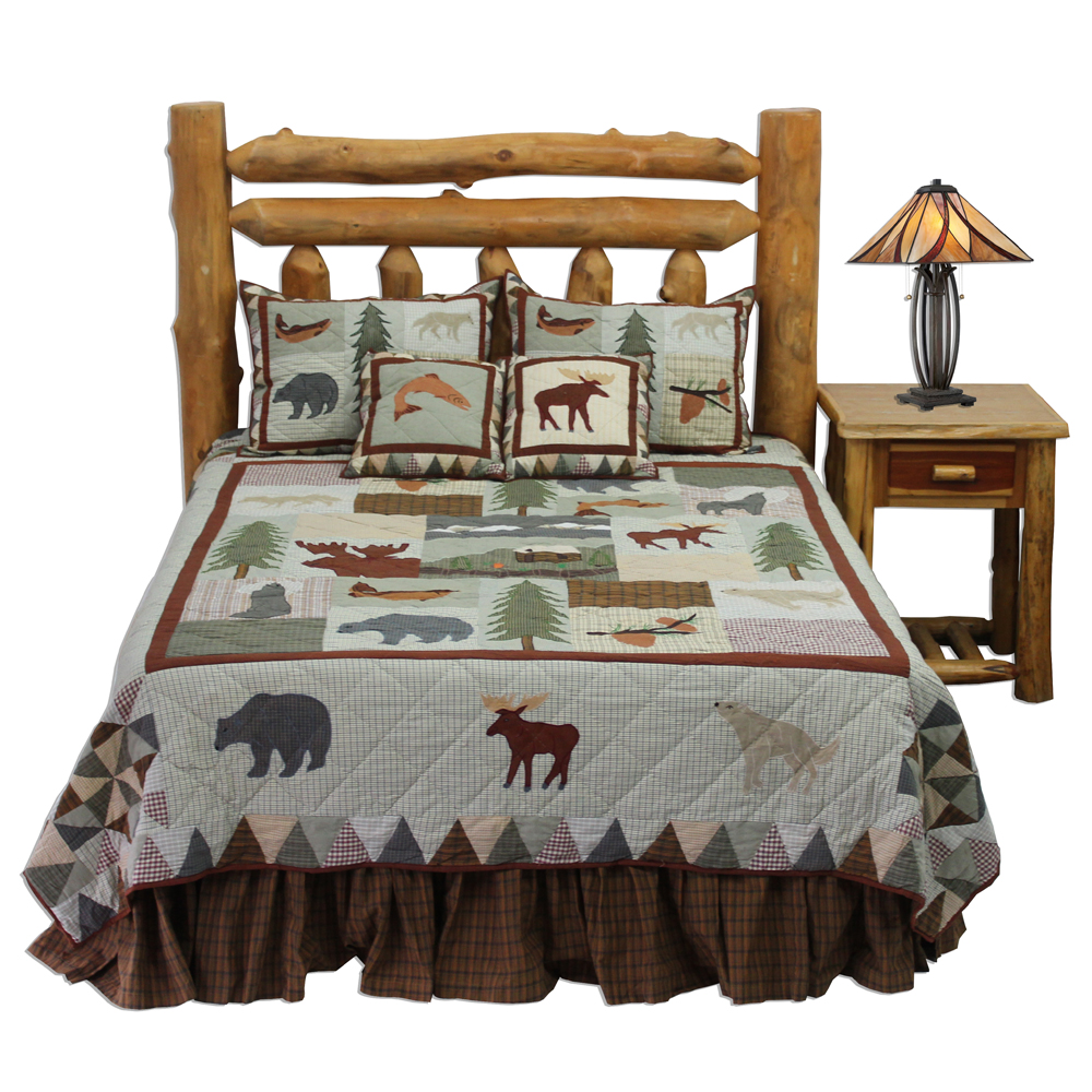 "Mountain Whispers King Quilt 105""W x 95""L"