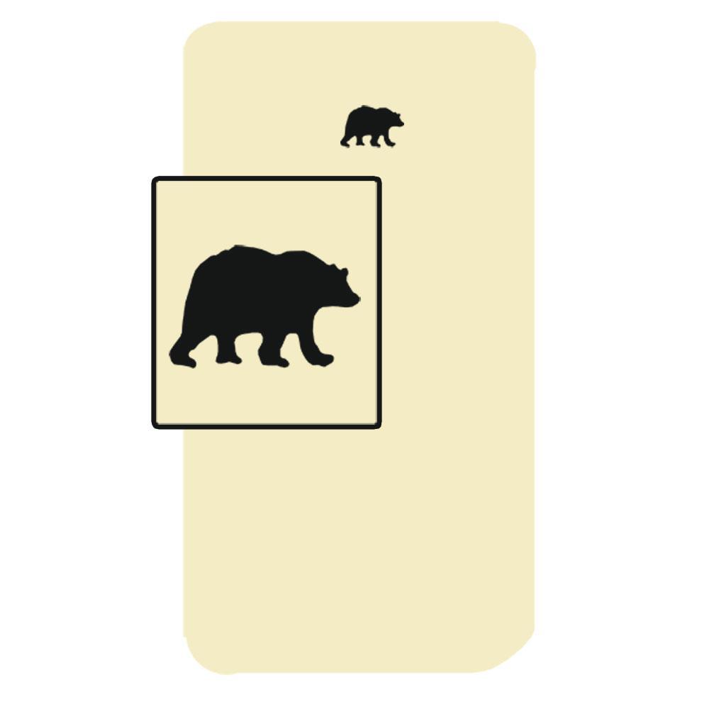 "Bear Country Crib Sheet 28""W x 53""L"