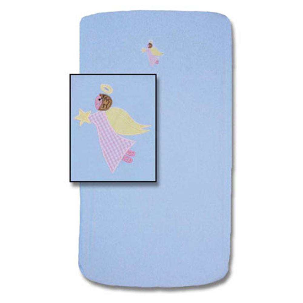 "Flying Angels Crib Sheet 28""W x 53""L"
