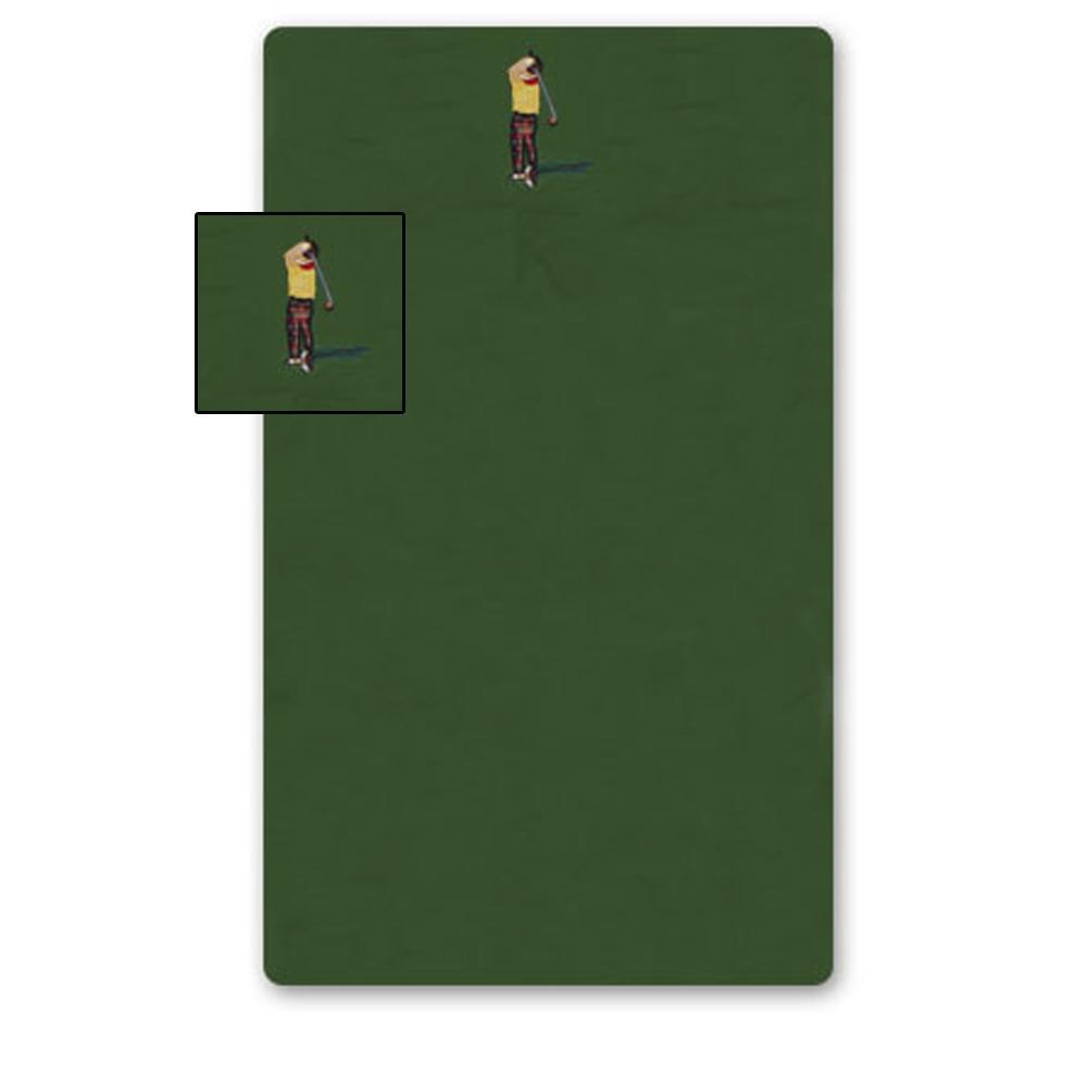 "Golf a Gift Crib Sheet 28""W x 53""L"
