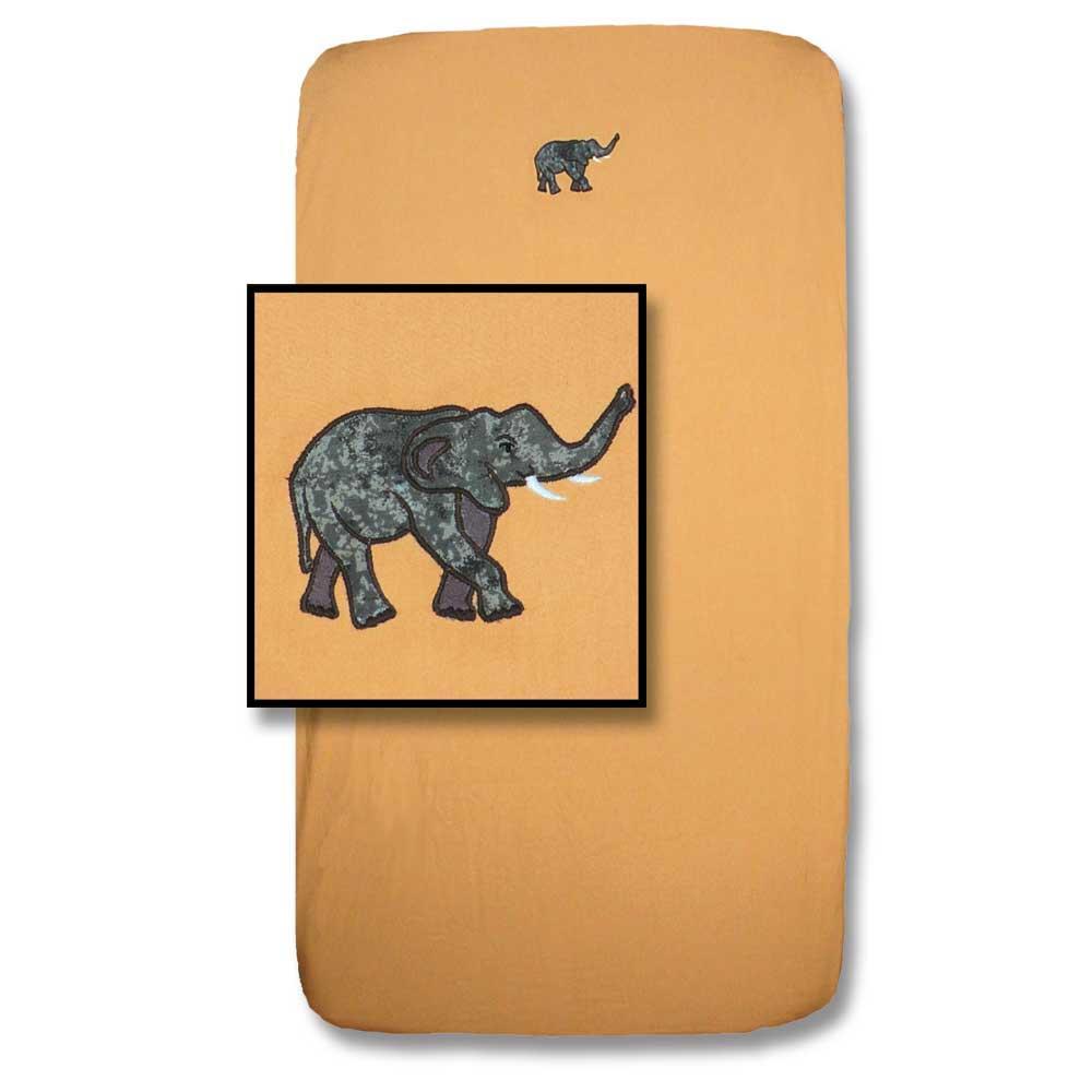 """Safari Crib Sheet 28""""W x 53""""L"""