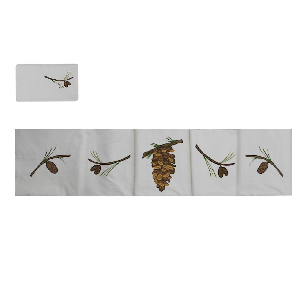 Pinecone king sheet set - 4 pc set