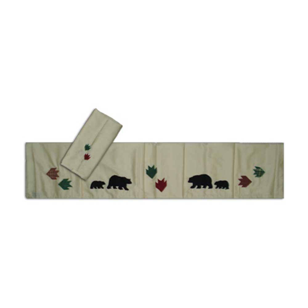 """Bear's Paw set queen 90""""x102"""""""