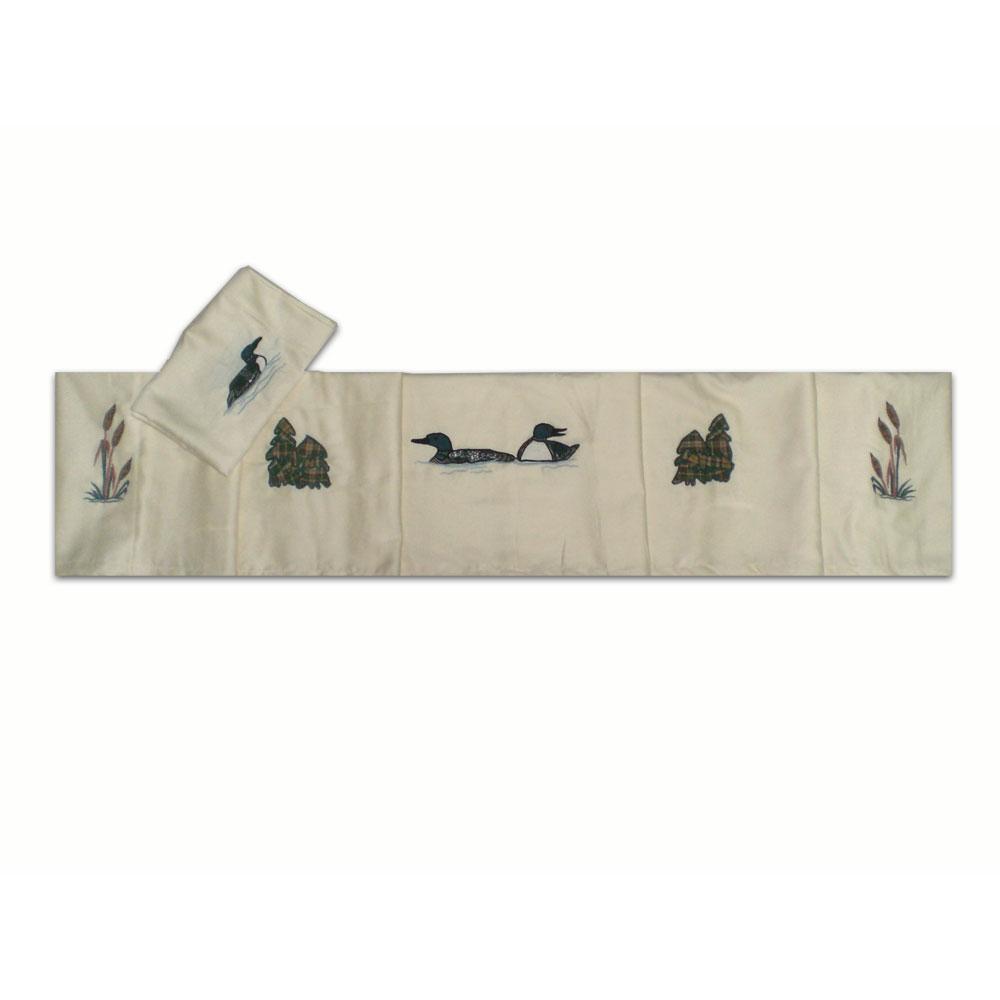 Common Loon Echo queen sheet set -4 pc set