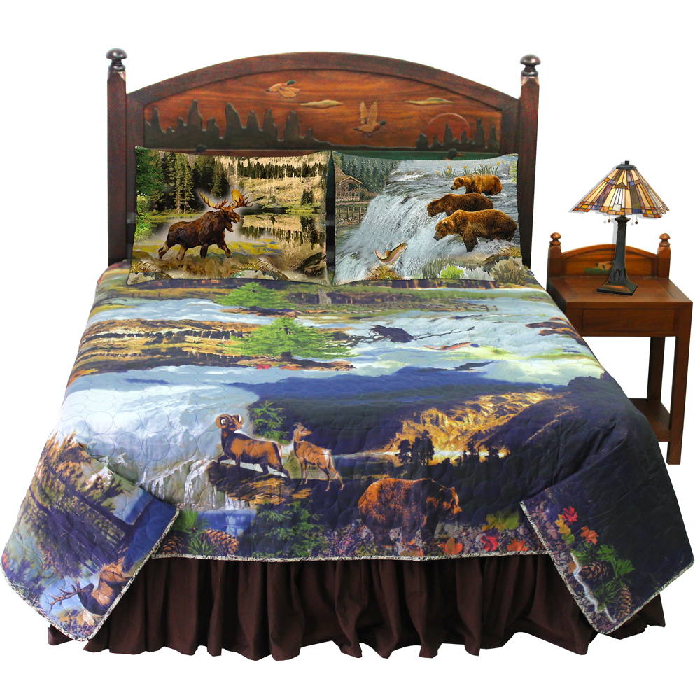 Wilderness Galore Super Queen Bed in a Bag Set of 4 Pieces