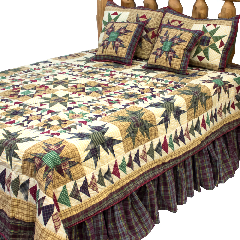 """Forever Super King Quilt 110""""W x 96""""L"""