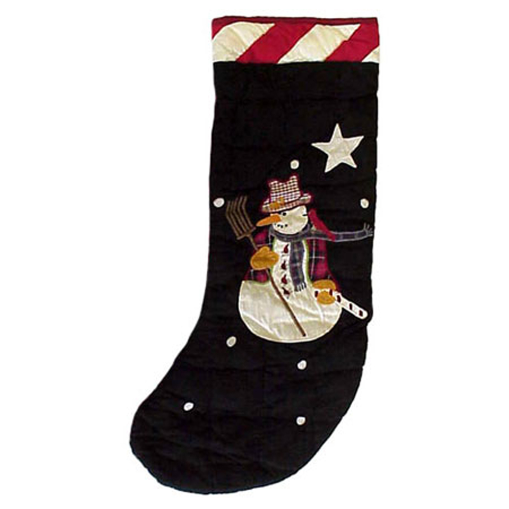 "Frosty Snowman Stocking 8""W x 21""L"