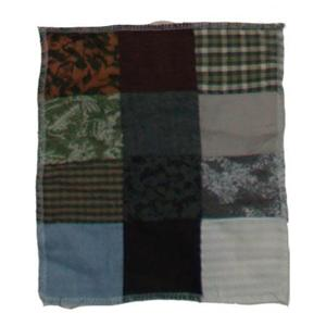 "Bear Country fabric swatch 4""w x 4""l"