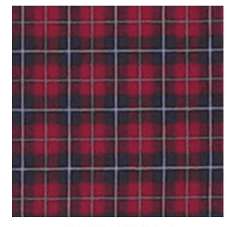 """Maroon and Black Plaid Fabric Swatch 4"""" x 4"""""""