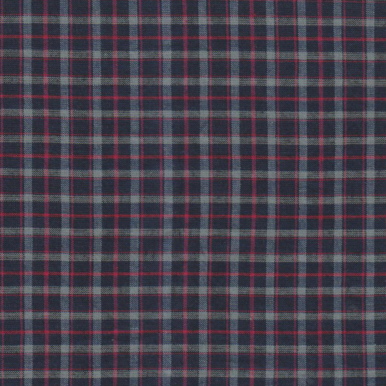 """Rustic Red and Tan Check Plaid Fabric Swatch 4"""" x 4"""""""