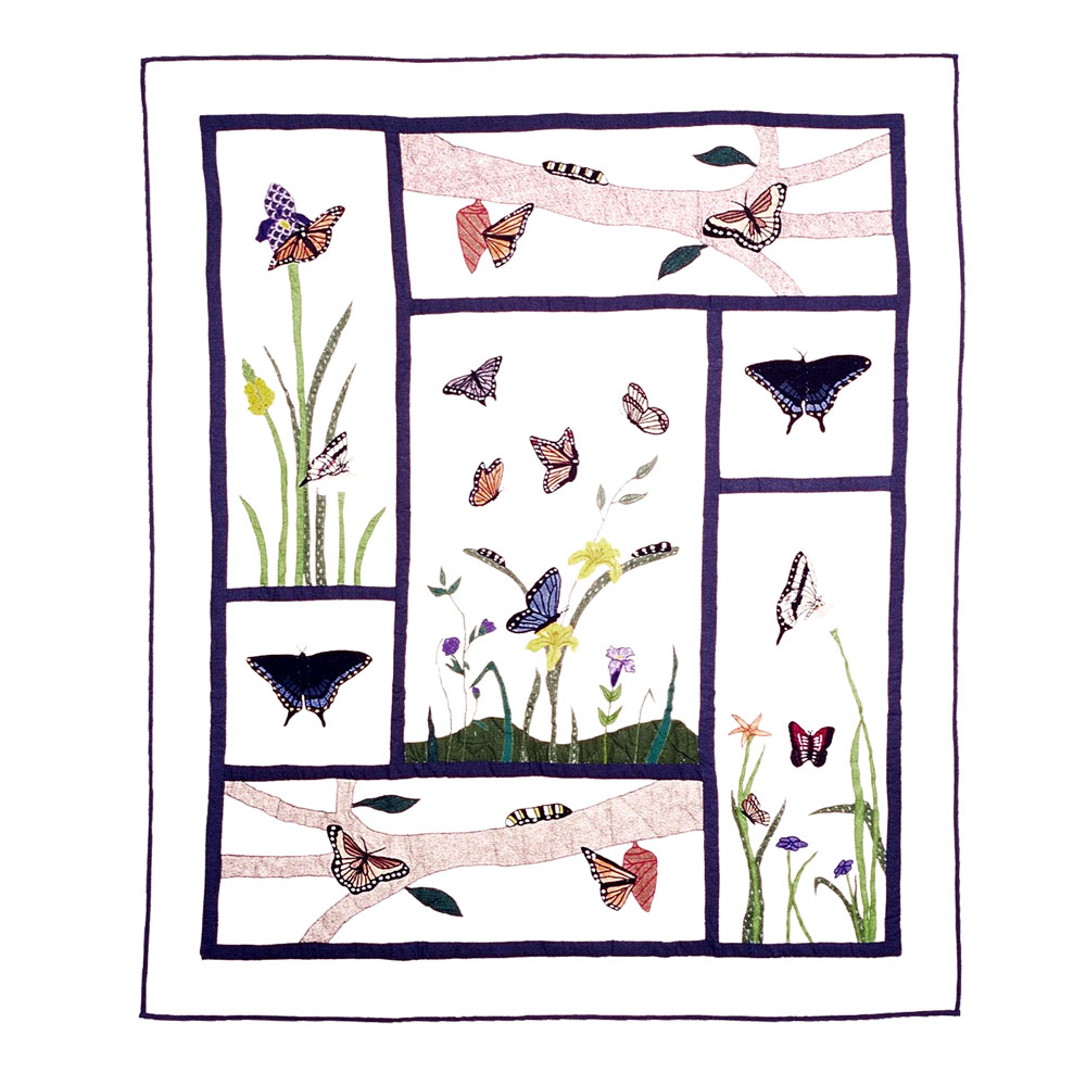"""Butterfly Kisses Throw 50""""W x 60""""L"""