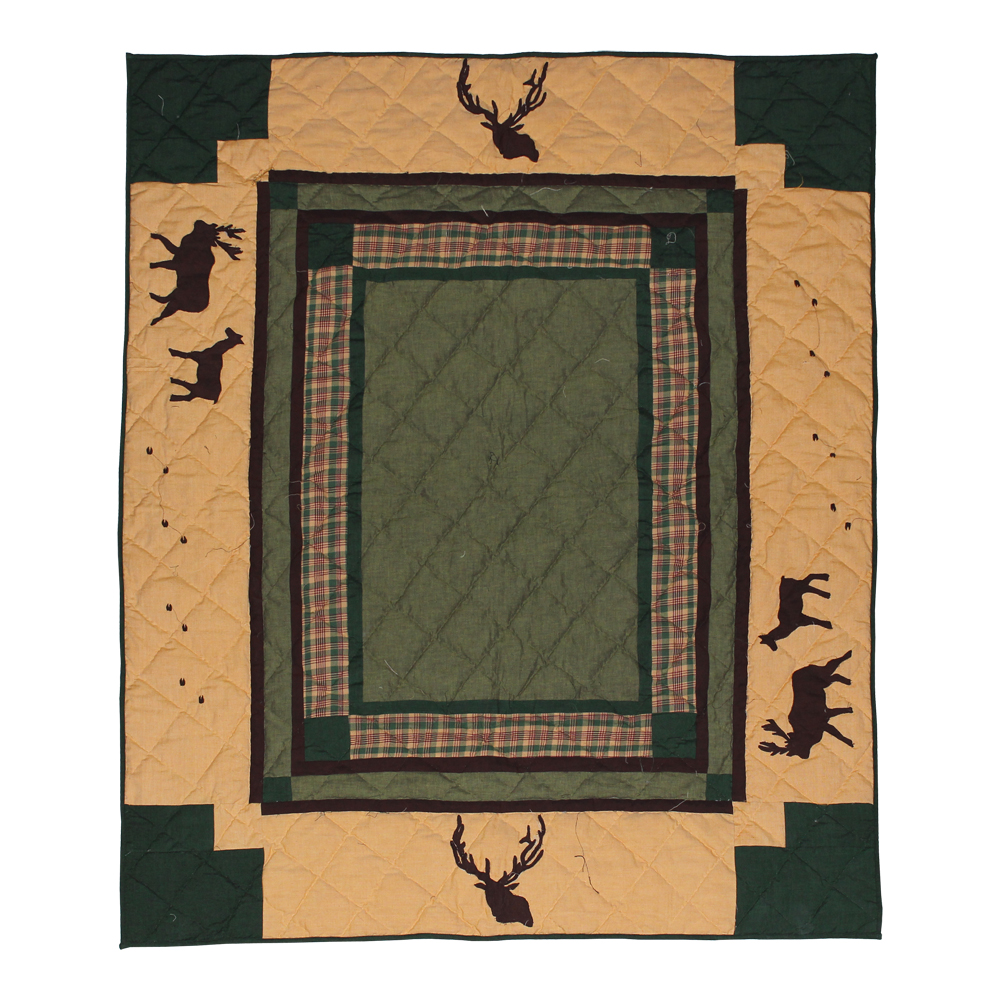 "Elk Trail Throw 50""W x 60""L"