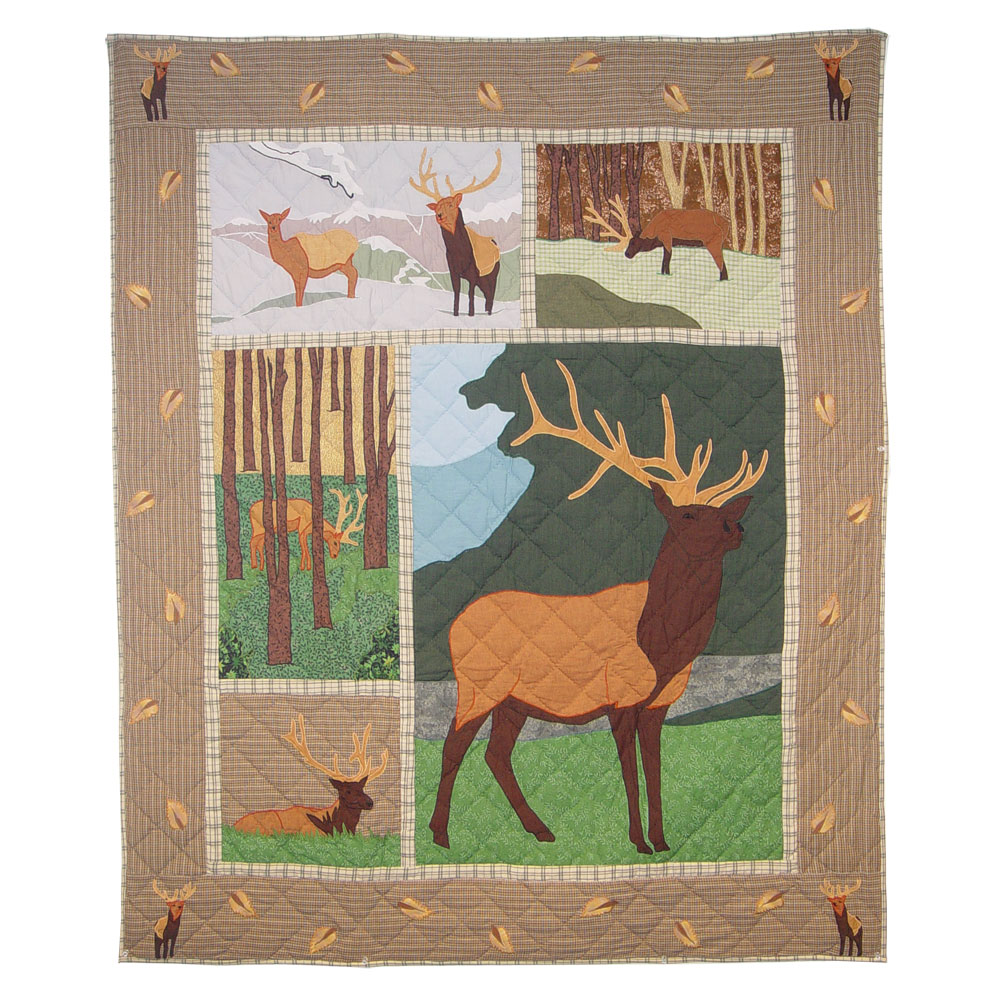 "Elk Throw 50""W x 60""L"
