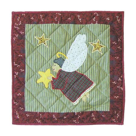 "Angels Everywhere-angel Toss Pillow 16""W x 16""L"