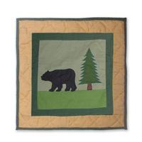 """Lodge Fever bear Toss Pillow 16""""W x 16""""L"""
