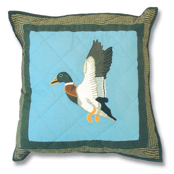 """Mallard Mallard Toss Pillow 16""""W x 16""""L"""