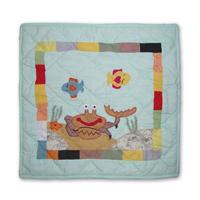 """Kids Aquarium Toss Pillow 16""""W x 16""""L"""