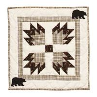 """Bear's Paw Toss Pillow 16""""W x 16""""L"""