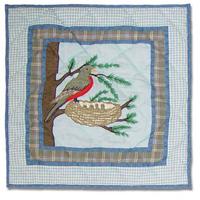 """Songbirds Toss Pillow 16""""W x 16""""L"""