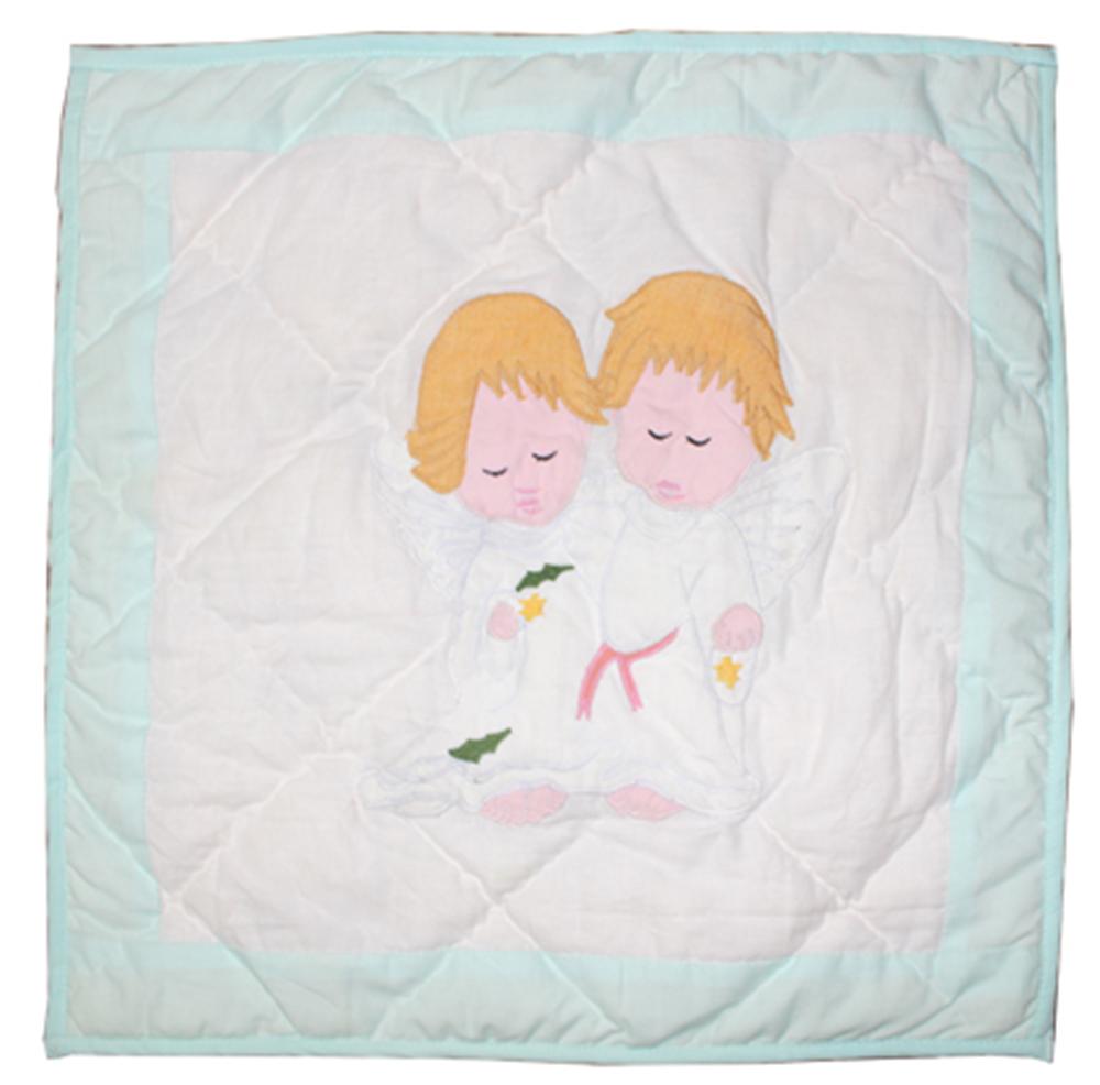 """Baby Angels Toss Pillow 16""""W x 16""""L"""