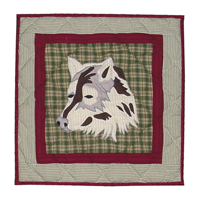"Call of the Wild Toss Pillow 16""W x 16""L"