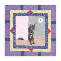 """Cats Toss Pillow 16""""W x 16""""L"""