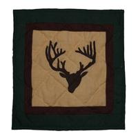"""Deer Trail Toss Pillow 16""""W x 16""""L"""