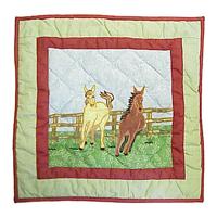 """Horse Toss Pillow 16""""W x 16""""L"""