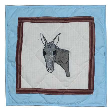 """Mule Trail Toss Pillow 16""""W x 16""""L"""