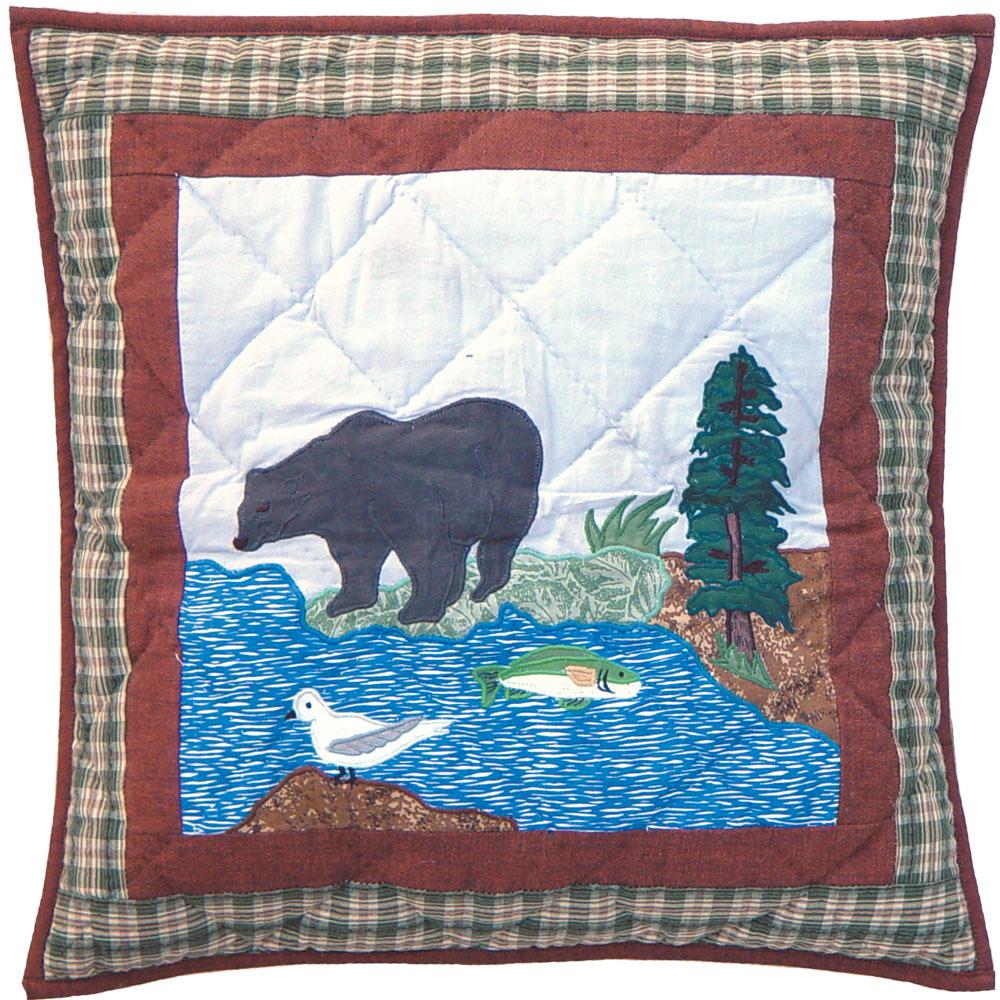 """Natures Splendor Toss Pillow 16""""W x 16""""L"""