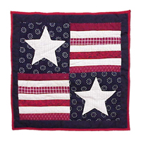 "Patriot Toss Pillow 16""W x 16""L"