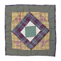 "Square Diamond Toss Pillow 16""W x 16""L"