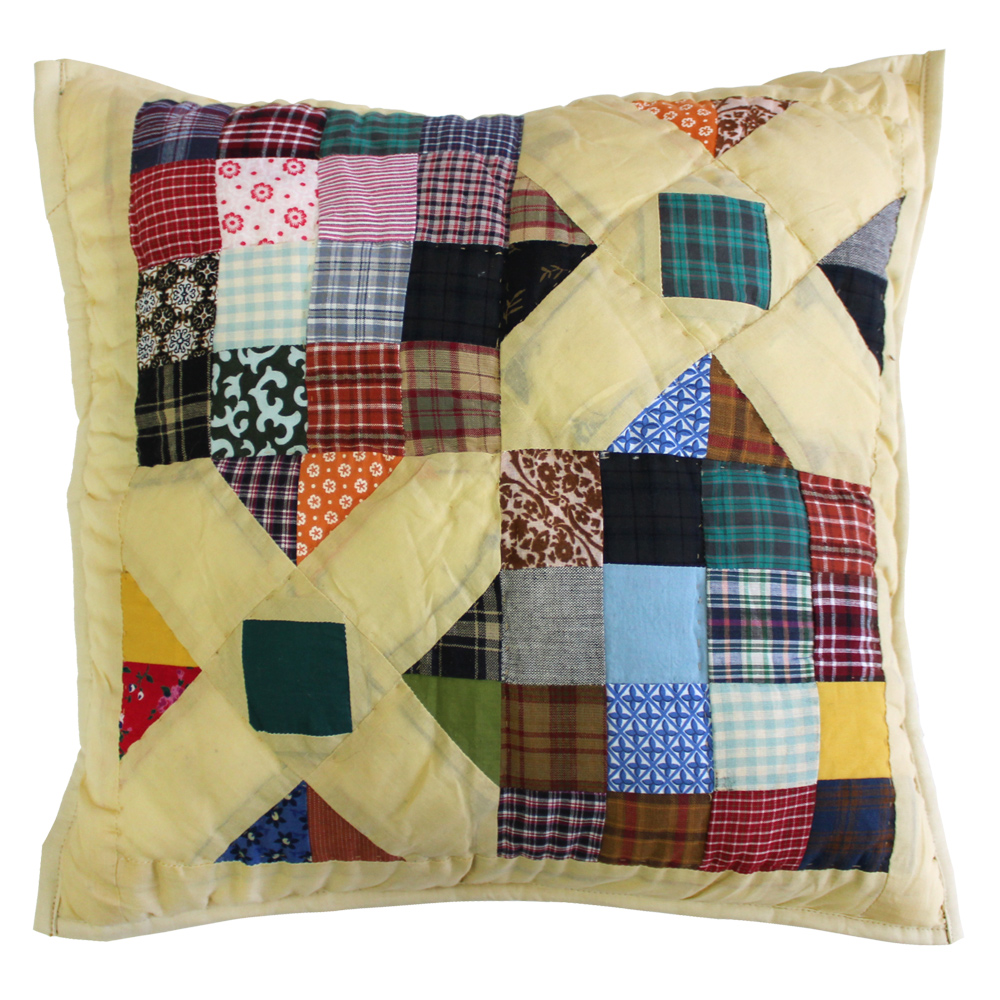 "Treasures in the Attic Toss Pillow 16""W x 16""L"