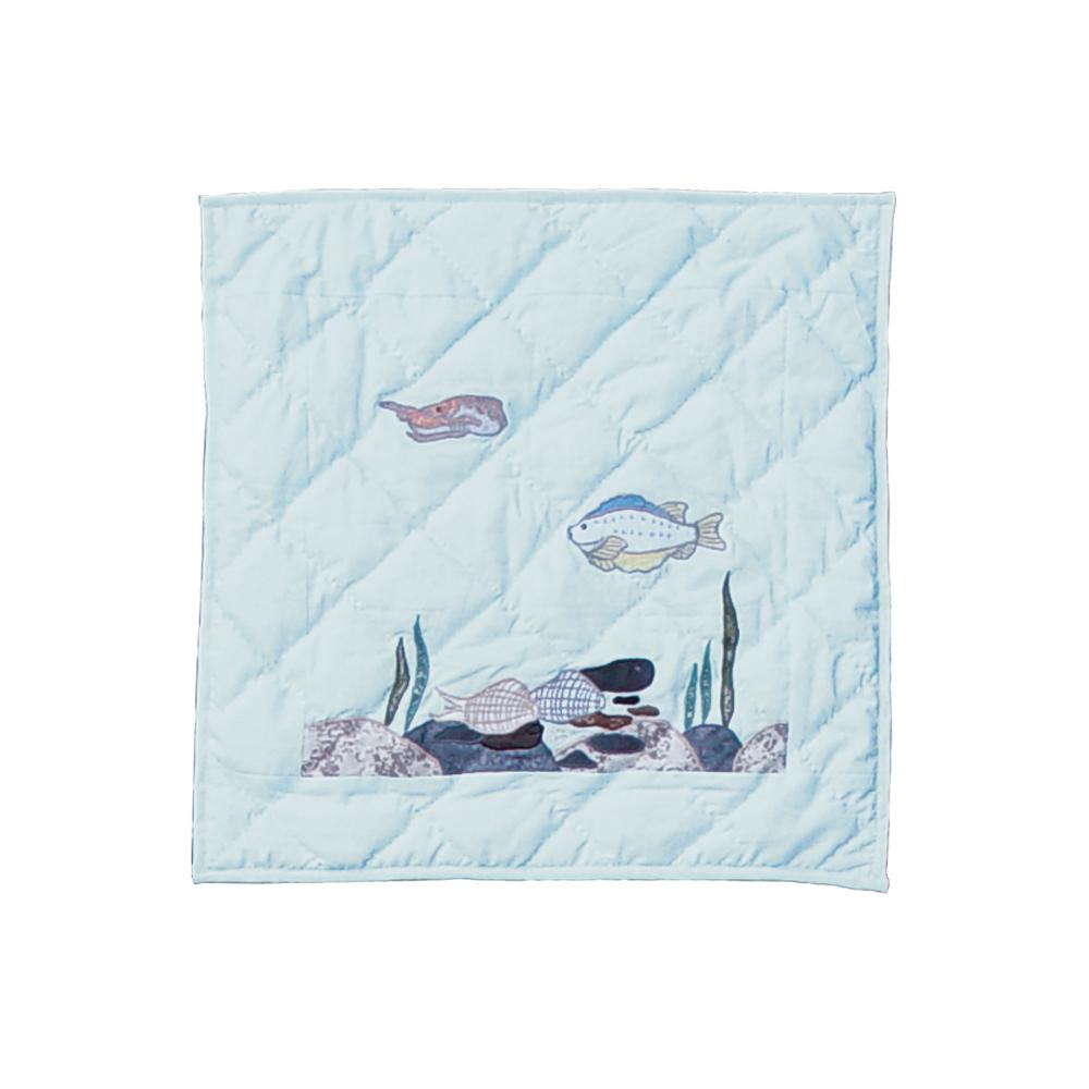 "Underwater Haven Toss Pillow 16""W x 16""L"