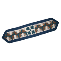 "Bear Creek Table Runner Long 72""W x 16""L"