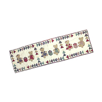 "Brown Bear Table Runner Long 72""W x 16""L"