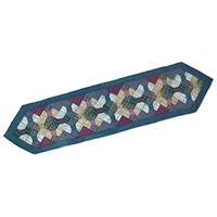 """Bow Tie Table Runner Long 72""""W x 16""""L"""